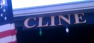 Cline Sign