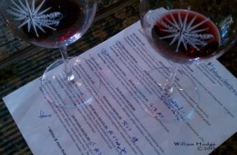 Bottle of Wine south coast menue
