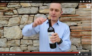 California Bottle of Wine