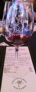 chapin wine california bottle of wine