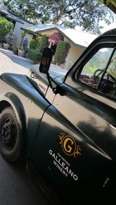 California Bottle of Wine Galleano truck